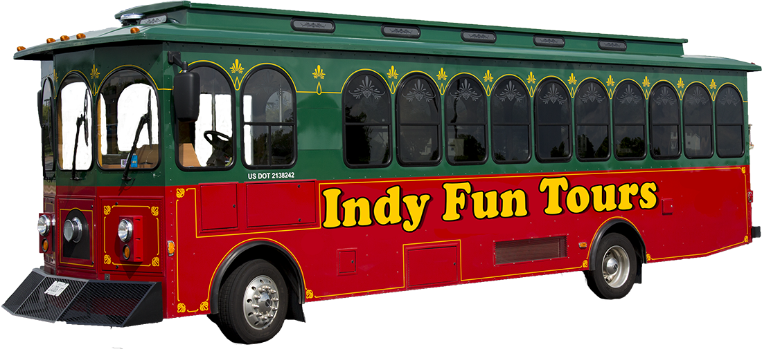 Indy fun tours trolley 1
